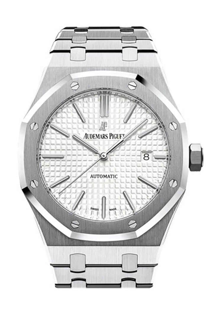 Audemars Piguet Royal Oak 41mm Silver-toned Dial Stainless Steel Bracelet Men's Watch 15400ST.OO.1220ST.02