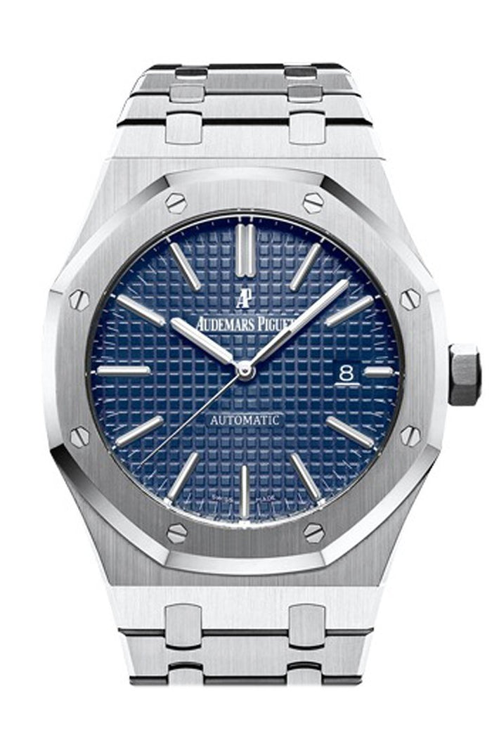 Audemars Piguet Royal Oak 41mm Blue Dial Stainless Steel Bracelet Men's Watch 15400ST.OO.1220ST.03