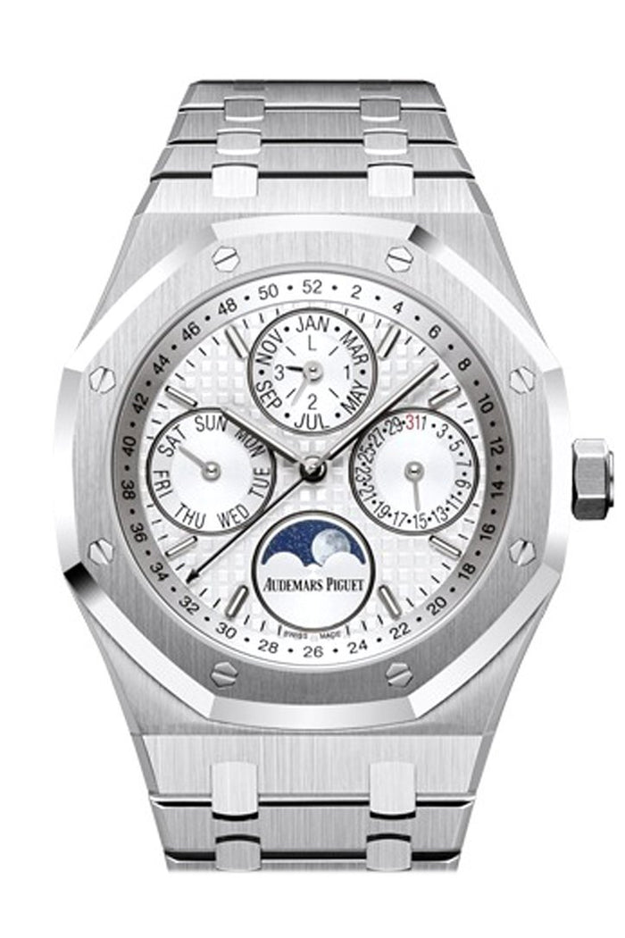 Audemars Piguet Royal Oak 41mm Silver-toned Dial Stainless steel Men's Watch 26574ST.OO.1220ST.01