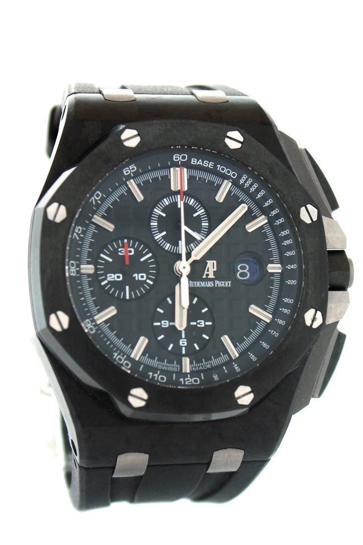 Audemars Piguet Prestige Sports Collection Royal Oak Offshore Chronograph Carbon Mens Watch