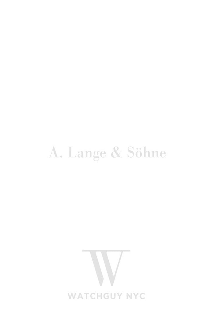 A. Lange & Sohne Saxonia 216.032 Watch