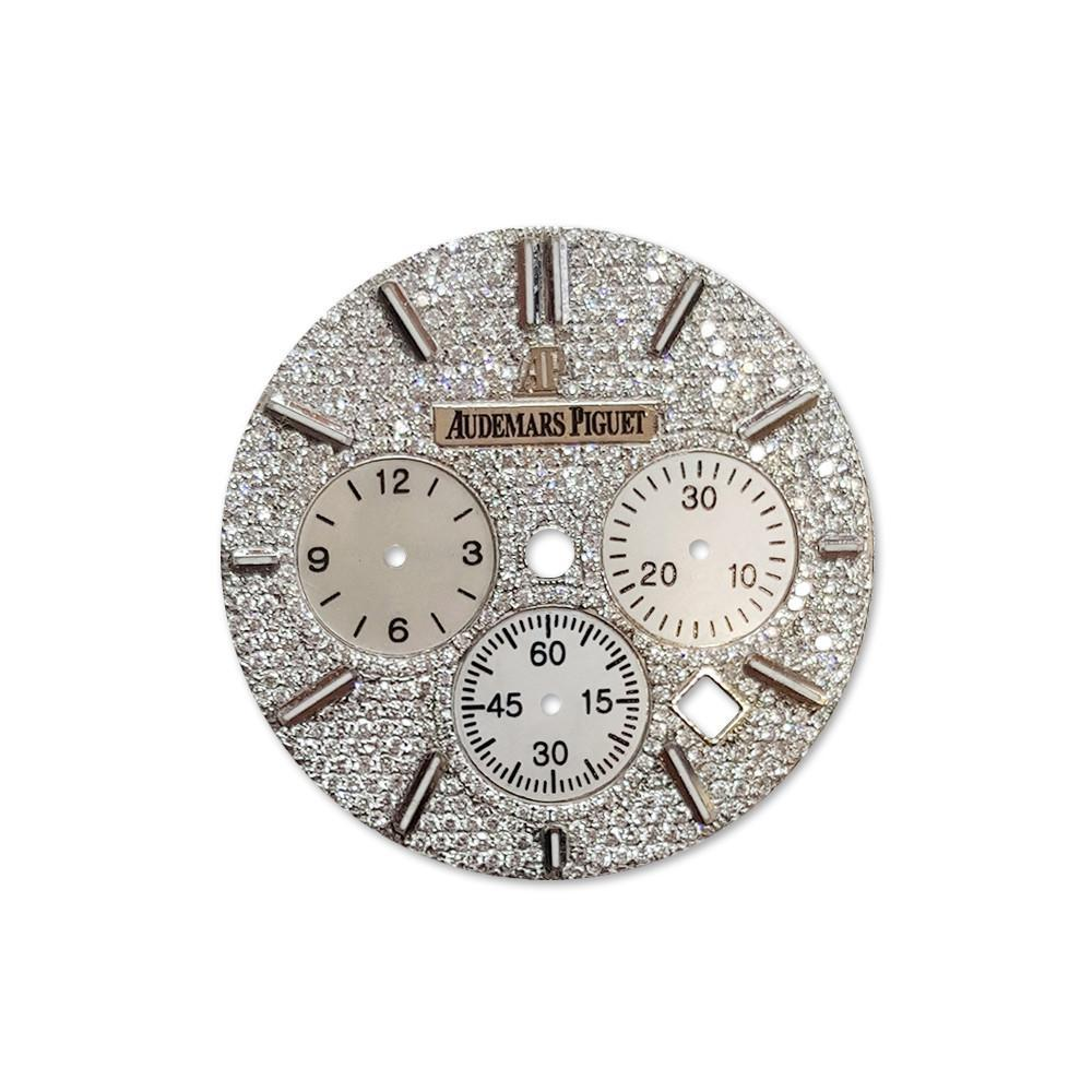 Audemars Piguet Custom Diamond Dial Dil 073 / None Custom-Dial