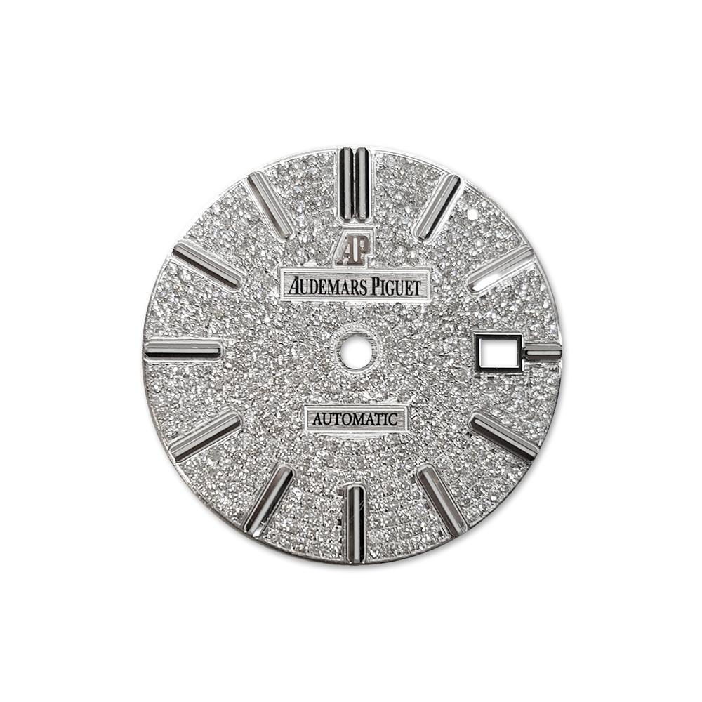 Audemars Piguet Custom Diamond Dial Dil 077 / None Custom-Dial