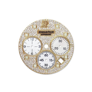 Audemars Piguet Custom Diamond Dial Dil 086 Champagne / None Custom-Dial