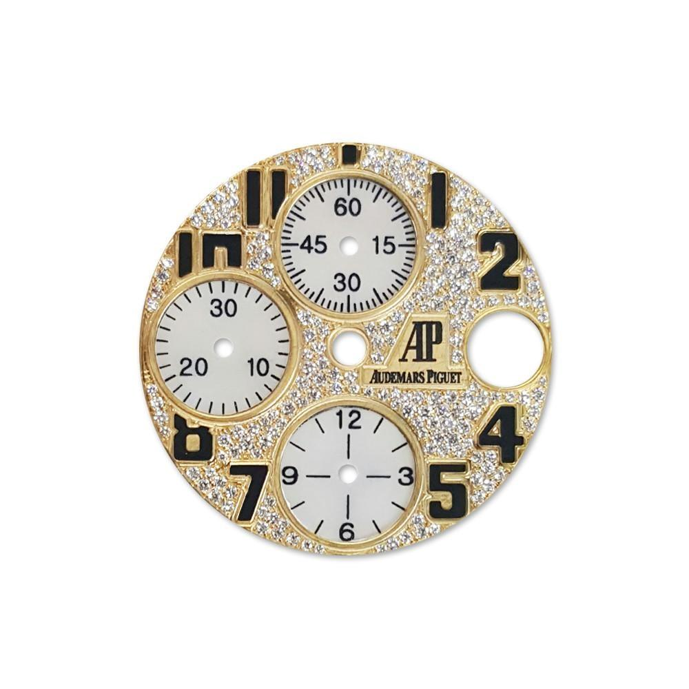 Audemars Piguet Custom Diamond Dial Dil 094 Champagne / None Custom-Dial