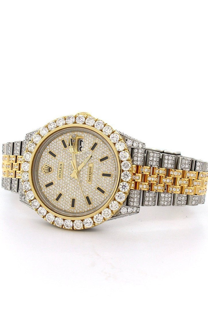 Rolex Datejust 41 Champagne Dial Steel And 18K Yellow Gold Jubilee Mens Watch 126333 Custom Watches