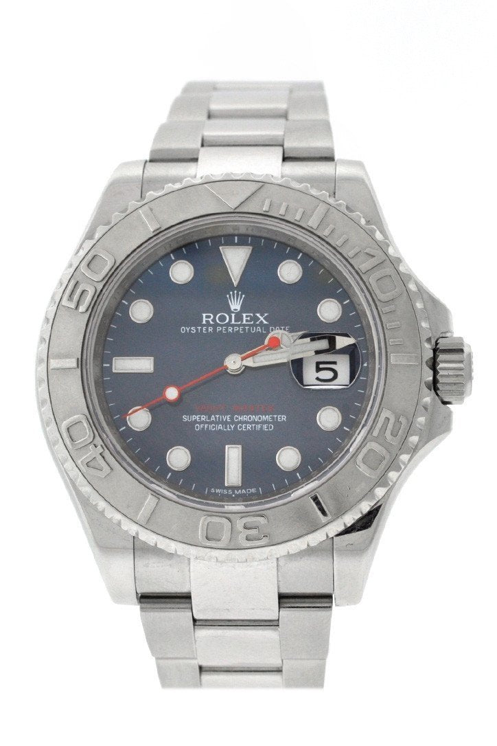 Rolex Yacht-Master 40 Automatic Blue Dial Stainless Steel Oyster Mens Watch 116622 / None