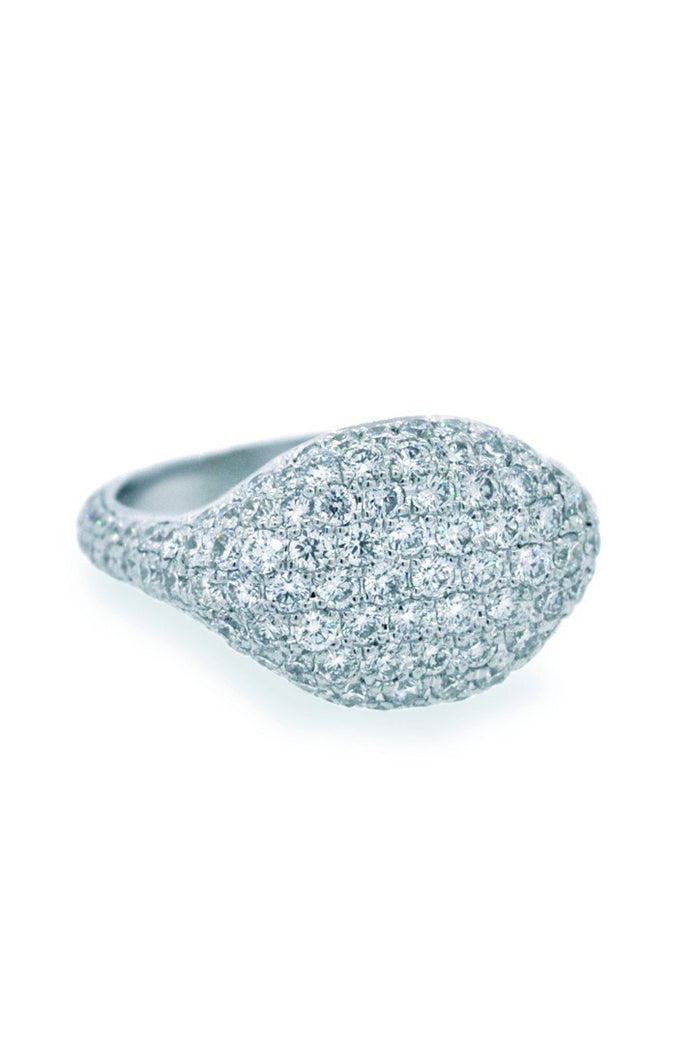 18K White Gold VVS Diamond 1.92CT Ring New York Jewelry| WatchGuyNYC