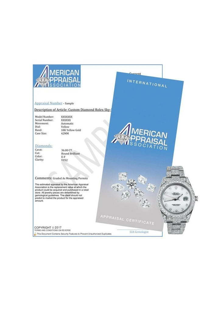 Rolex Datejust 31 White Dial Fluted Bezel 18K White Gold President Ladies Watch 178279