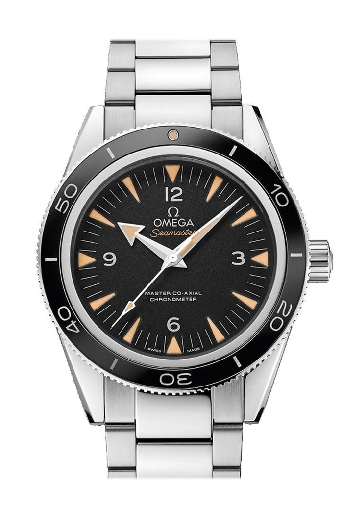 Omega Seamaster 300 Master Co-axial 41mm Automatic Black Dial Stainless Steel Men's Watch 233.30.41.21.01.001