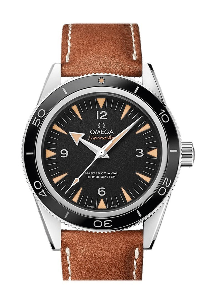 Omega Seamaster 300 Master Co-axial 41mm Automatic Black Dial Stainless Steel Men's Watch 233.32.41.21.01.002