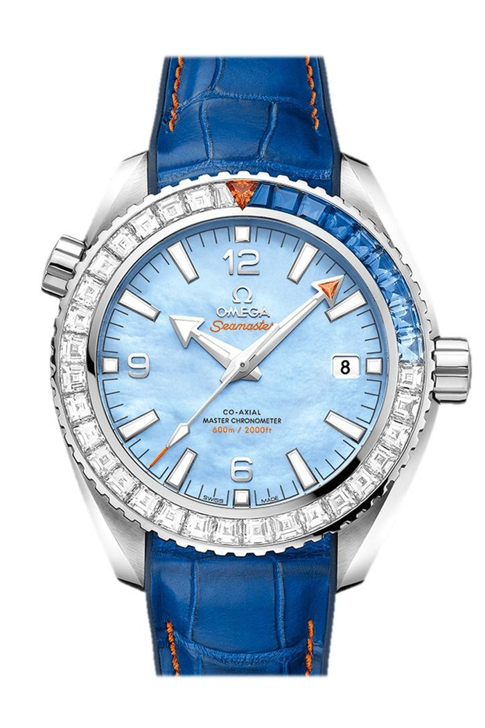 Omega Planet Ocean 600m Chronometer Chronograph 43.5mm 215.58.44.21.07.001