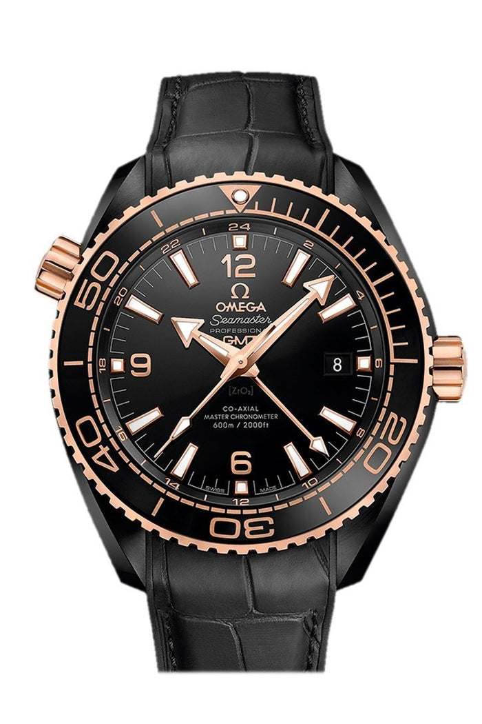 Omega Planet Ocean 600m Chronometer Chronograph Black ceramic 45.5mm 215.63.46.22.01.001