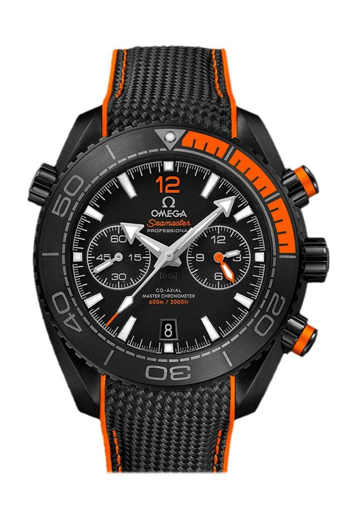 Omega Planet Ocean 600m Chronometer Chronograph Black ceramic 45.5mm 215.92.46.51.01.001