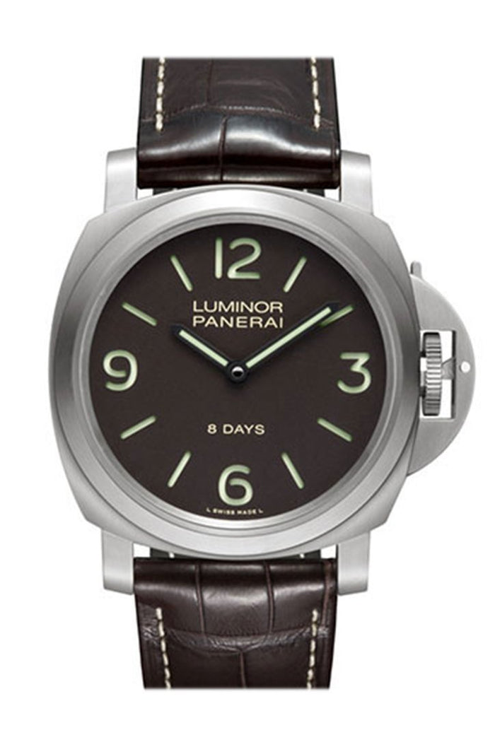 Panerai Luminor Base 8 Days Titanio Mechanical Men's Watch PAM00562