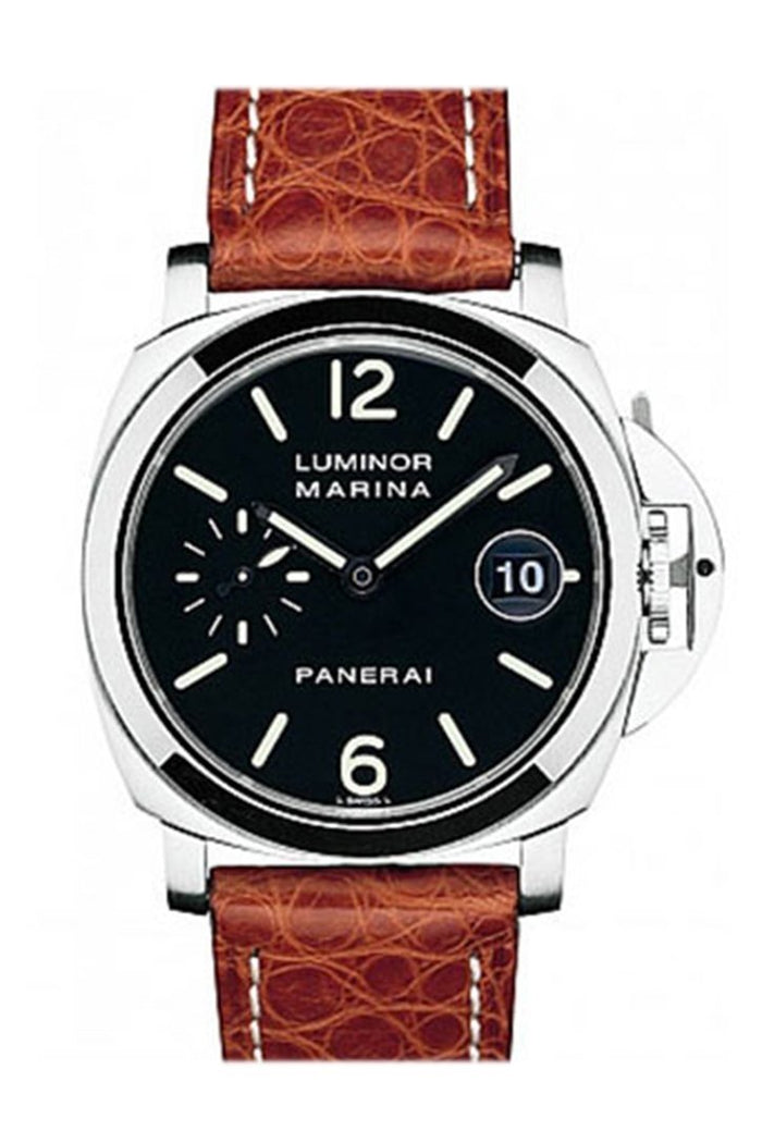 Panerai Luminor Marina Black Dial Automatic Men's Watch PAM00048