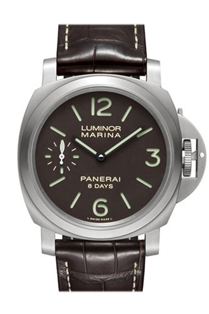 Panerai Luminor Marina 8 Days Titanio Mechanical Men's Watch PAM00564
