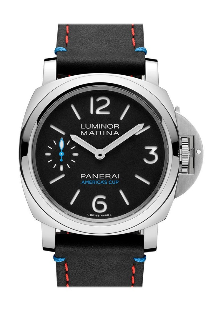 Panerai Luminor Marina Oracel Team USA Black Dial Men's Watch PAM00724