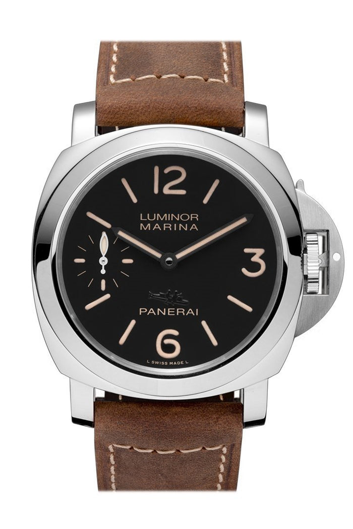 Panerai Luminor Marina Acciaio Black Dial Men's Watch PAM00541