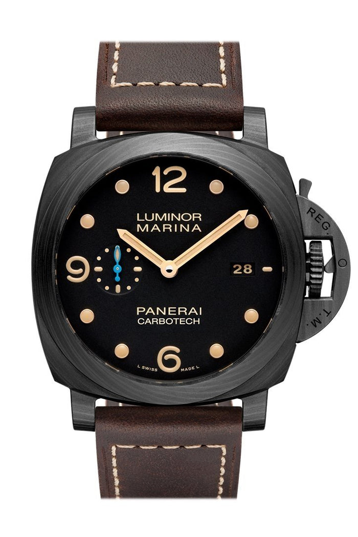 Panerai Luminor Marina 1950 Carbotech™ 3 Days Automatic 44mm Black Dial Men's Watch Pam00661