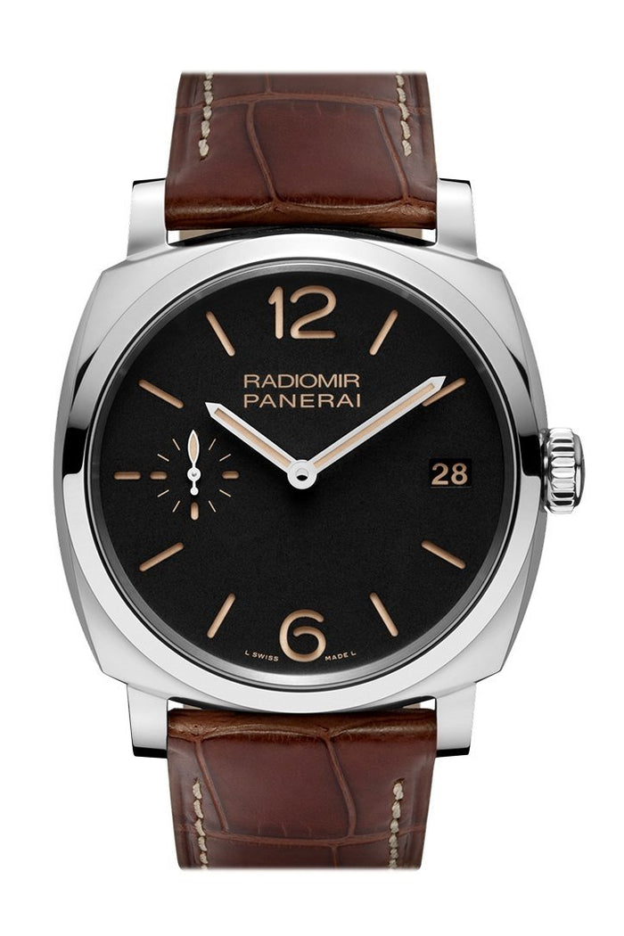 Panerai Radiomir 1940 3 Days Acciaio 47mm Black Dial Men's Watch Pam00514