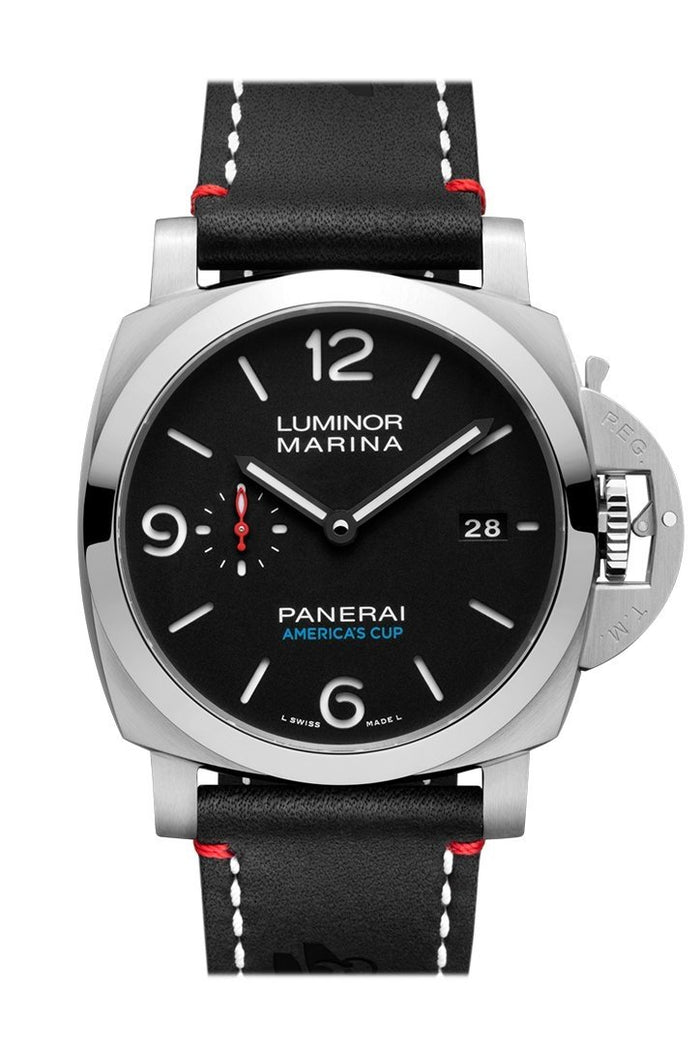 Panerai Luminor Marina 1950 Softbank Team Japan 3 Days Automatic Acciaio 44mm Black Dial Men's Watch Pam00732