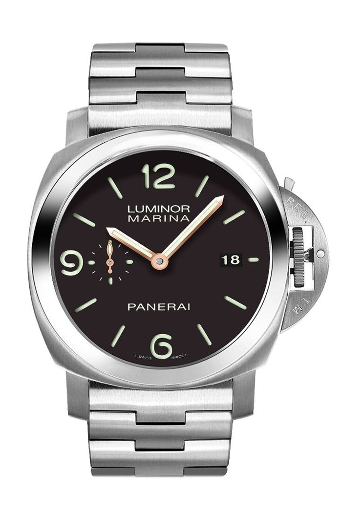Panerai Luminor Marina Automatic 42mm Black Men's Watch PAM00352