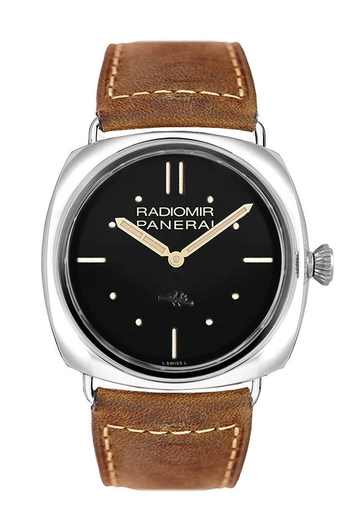 Panerai Radiomir SLC 3 Days Mechanical Automatic 47mm Black Dial Men's Watch PAM00425
