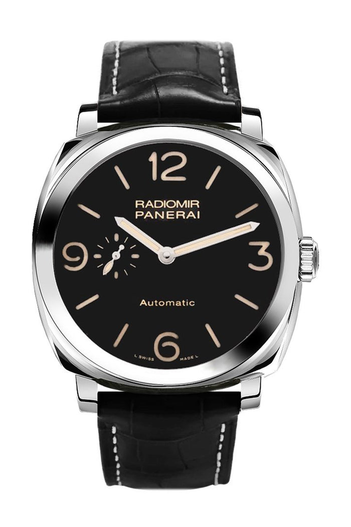 Panerai Radiomir 1940 Automatic Black Dial Black Leather 45mm Men's Watch PAM00572