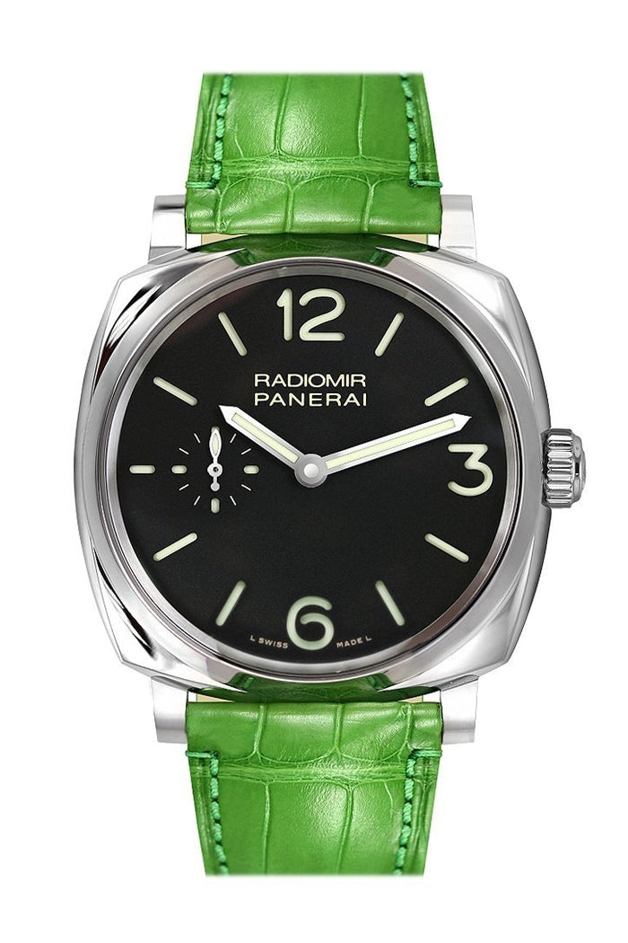 Panerai Radiomir 1940 3 Day Black Dial 44mm Men's Watch PAM00574