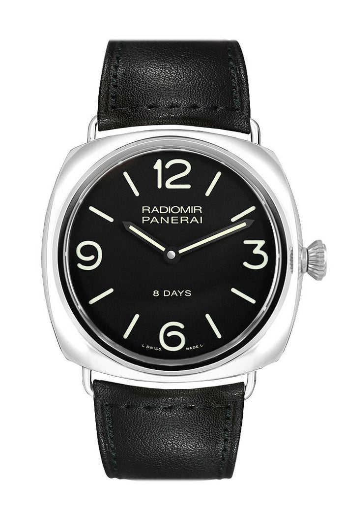 Panerai Radiomir Black Dial Leather 45mm Men's Watch PAM00610