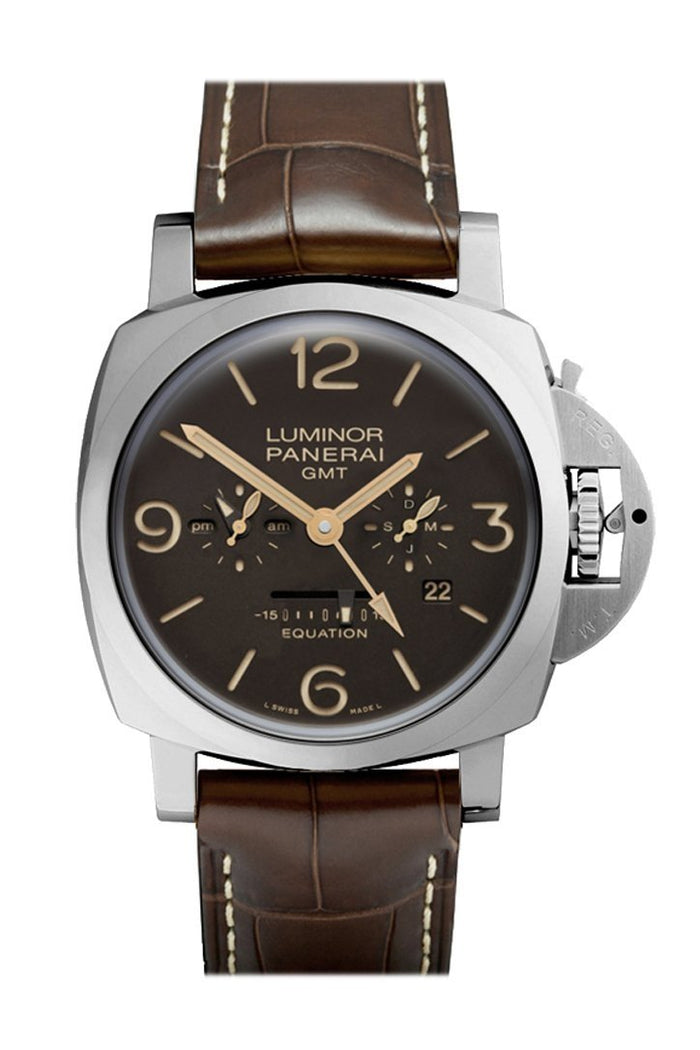 Panerai Luminor 1950 Equation Of Time 8 Days GMT Men's Watch PAM00656