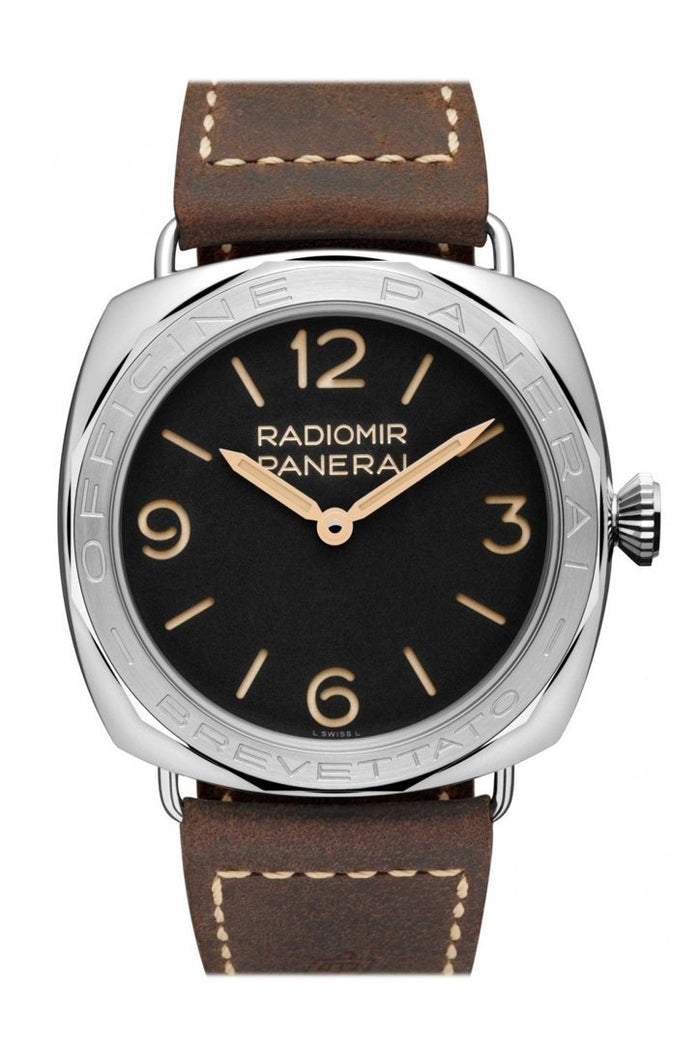 Panerai Radiomir Black Dial 47mm Men's Limited Editon Hand Wound Watch PAM00685