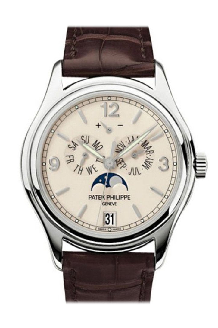 Patek Philippe Complicated Annual Calendar 18Kt White Gold Automatic Mens Watch 5146G-001