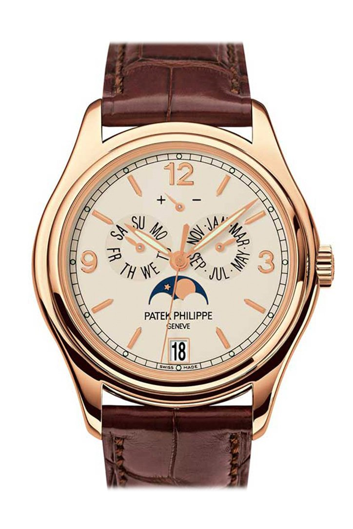 Patek Philippe Complications Moonphase 18Kt Rose Gold Mens Watch 5146R-001