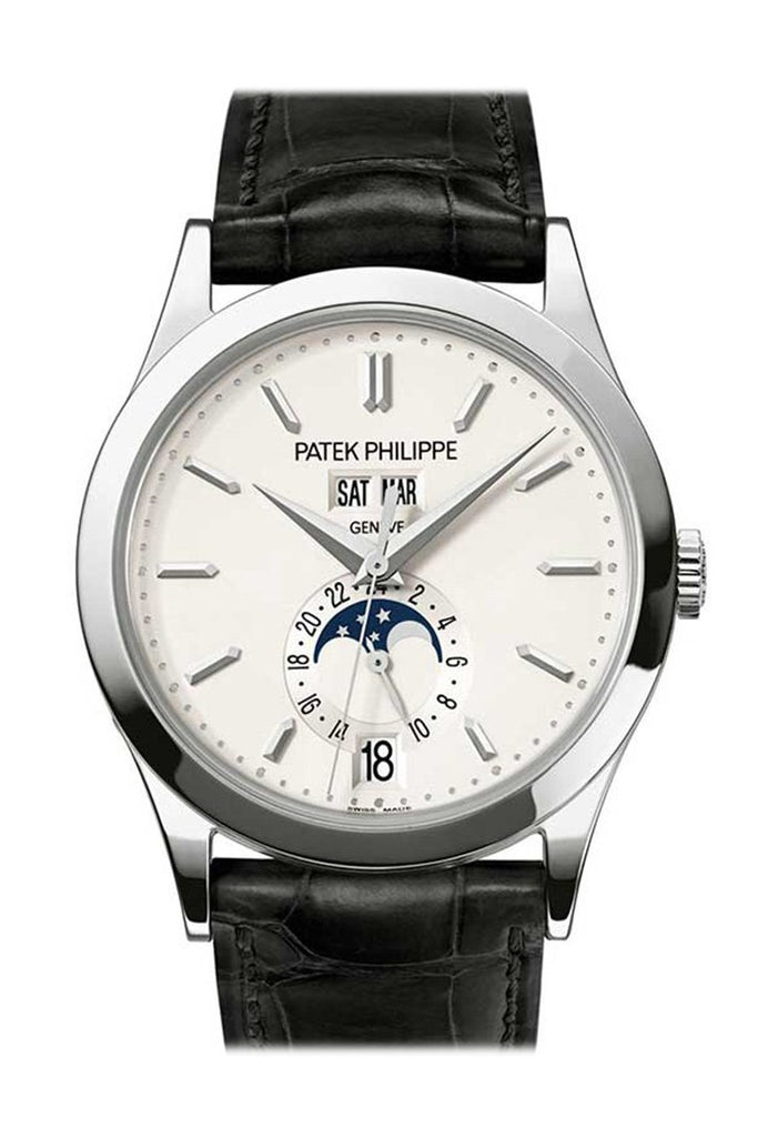 Patek Philippe Grand Complications Silvery Opaline Mens Watch 5396G-011