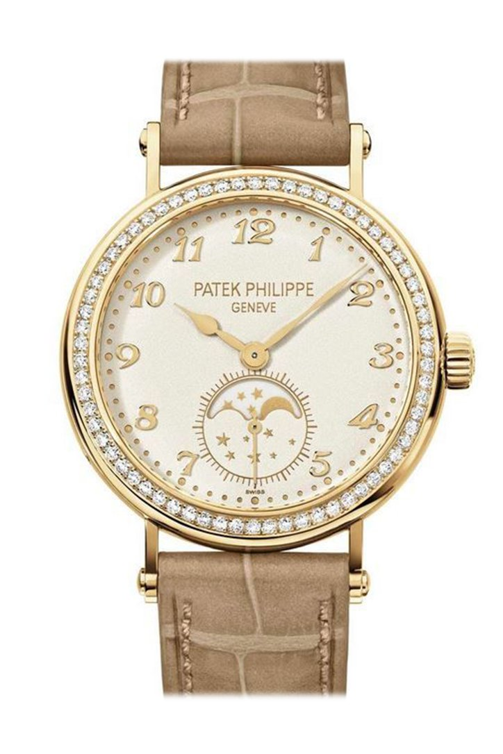 Patek Philippe Complications Yellow Gold Womens Watch 7121J-001