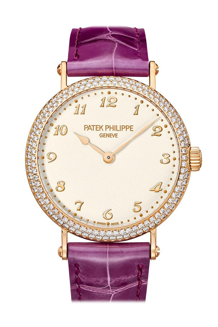 Patek Philippe Calatrava Automatic Gold Diamond Ladies Watch 7200/200R-001