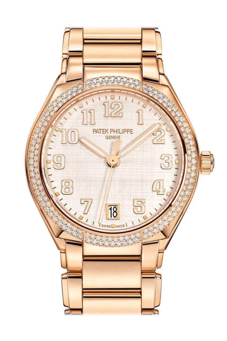 Patek Philippe Twenty-4 Automatic Rose Gold Round Ladies Watch 7300/1200R-010