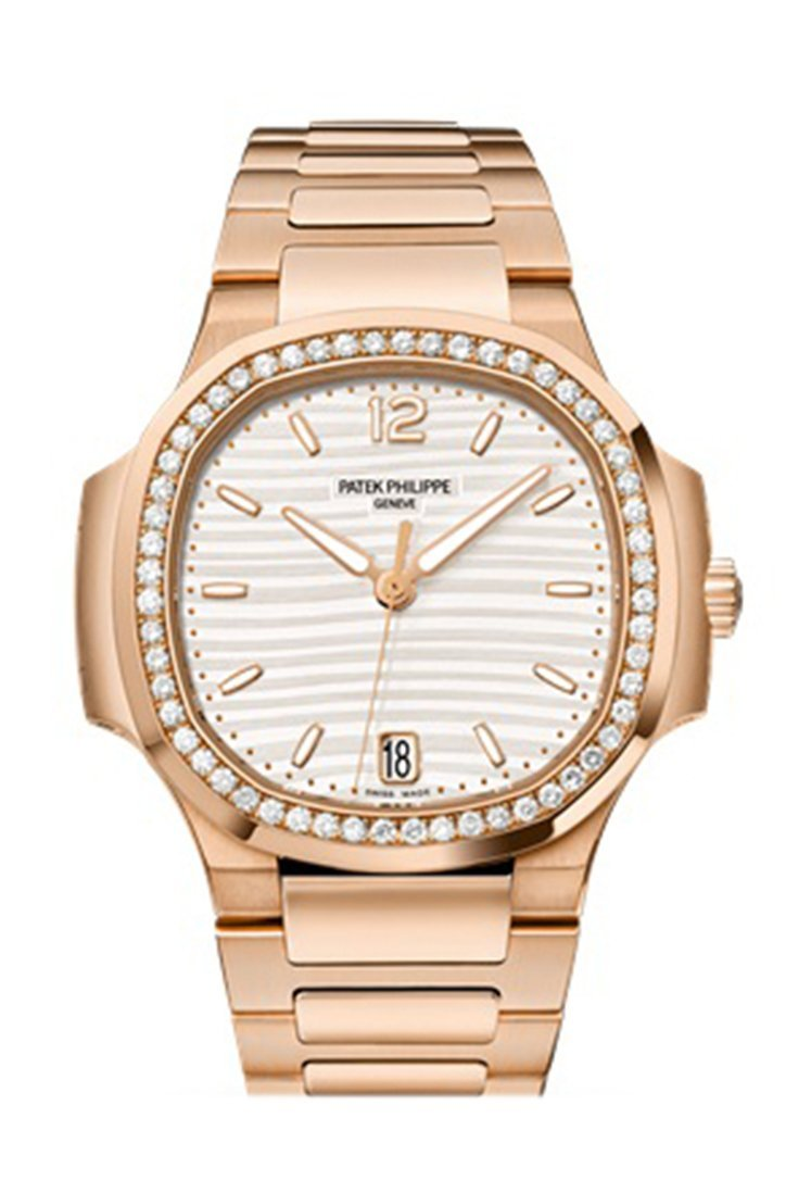 Patek Philippe Nautilus Automatic Diamond Ladies Watch 7118/1200R-001