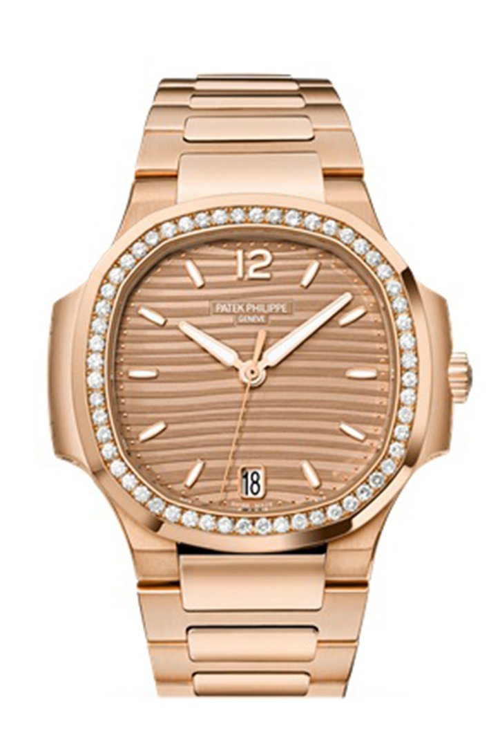 Patek Philippe Nautilus Automatic Diamond Ladies Watch 7118/1200R-010