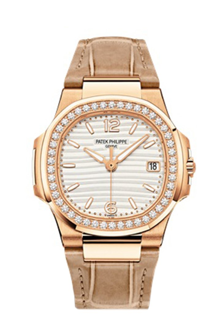 Patek Philippe Nautilus Automatic Diamond Ladies Watch 7010R-011