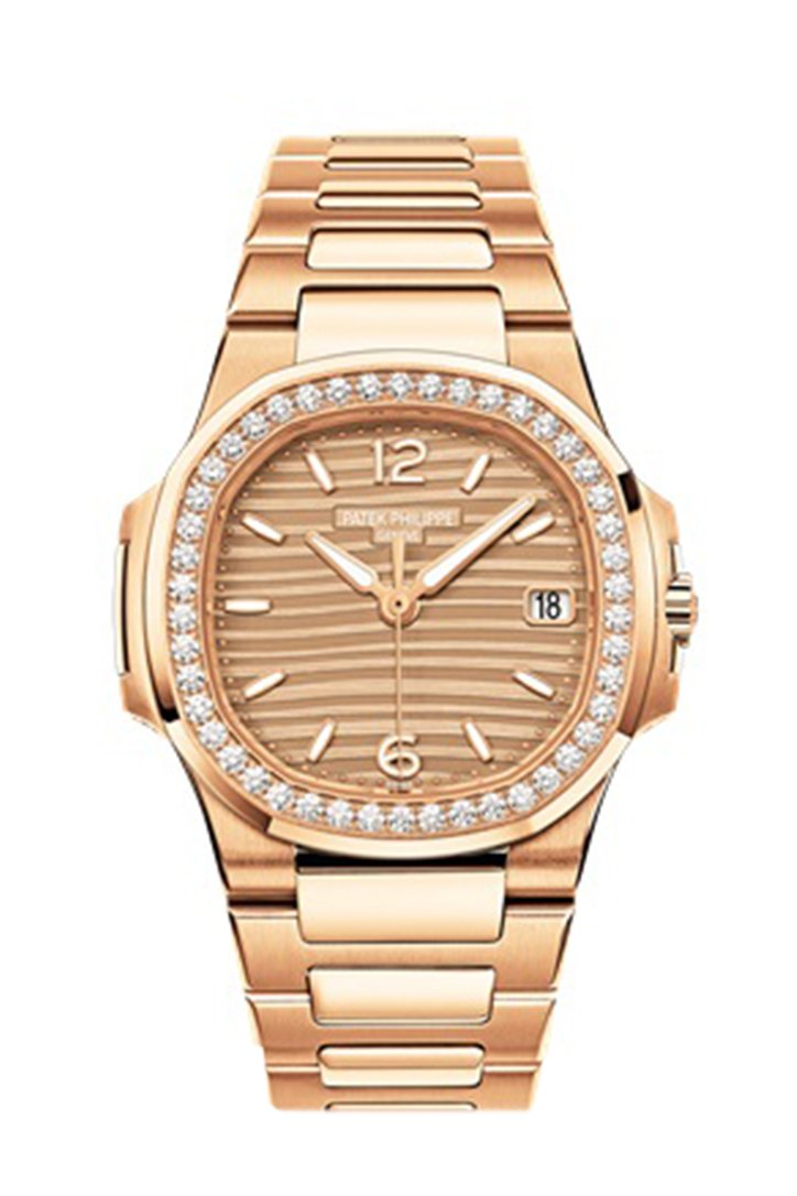 Patek Philippe Nautilus Automatic Diamond Ladies Watch 7010/1R-012