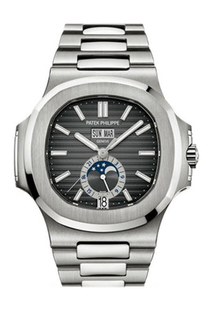 Patek Philippe Nautilus Black Dial Mens Watch 5726/1A-001