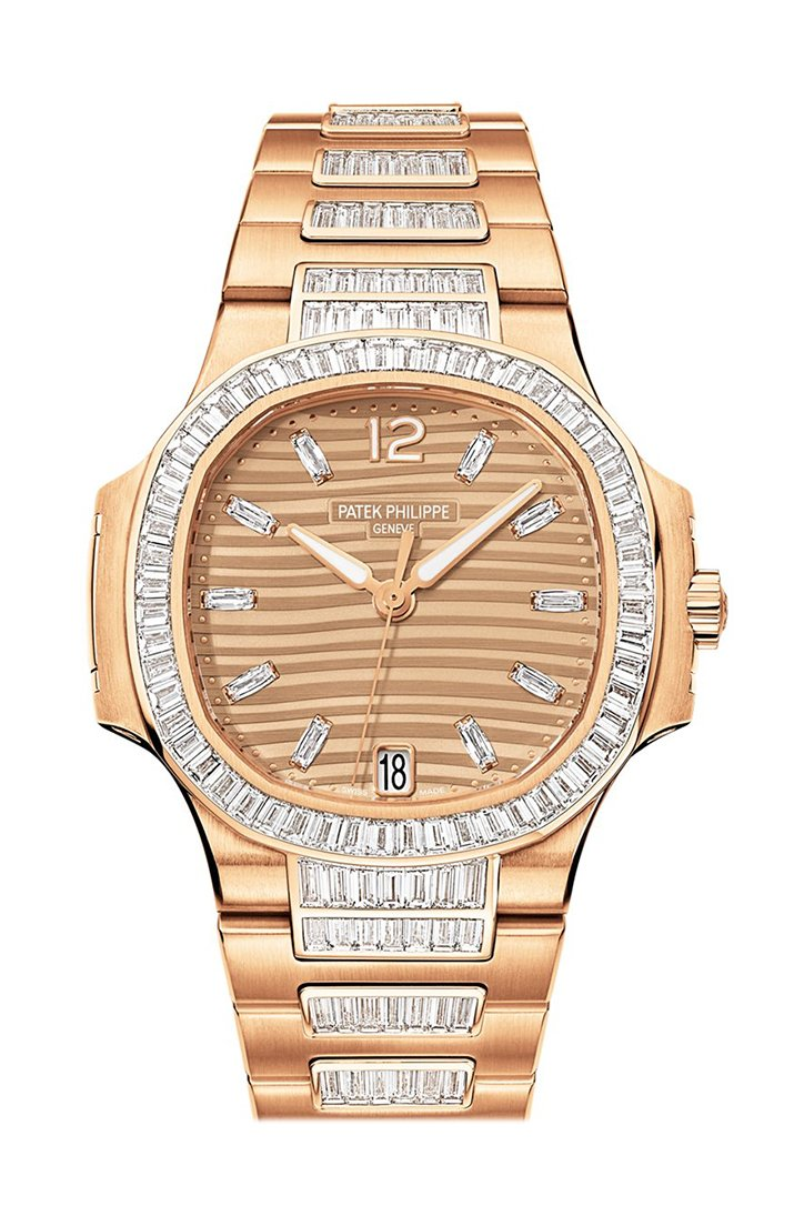 Patek Philippe Nautilus Golden Brown Ladies Watch 7014/1R-001