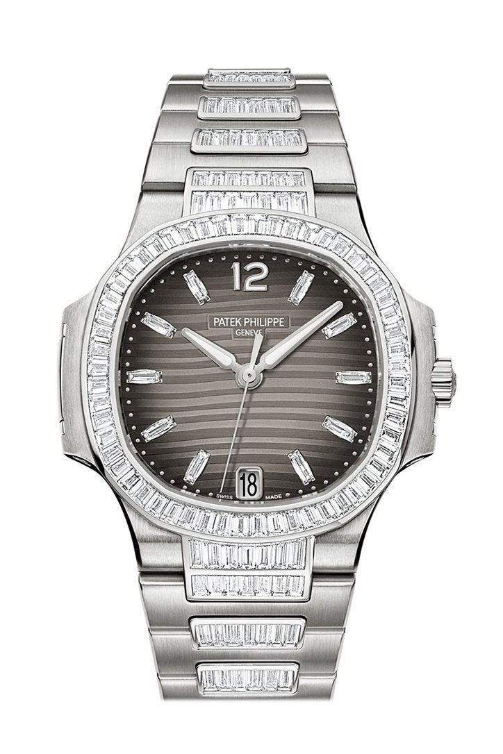 Patek Philippe Nautilus Charcoal Gray Ladies Watch 7014/1G-001