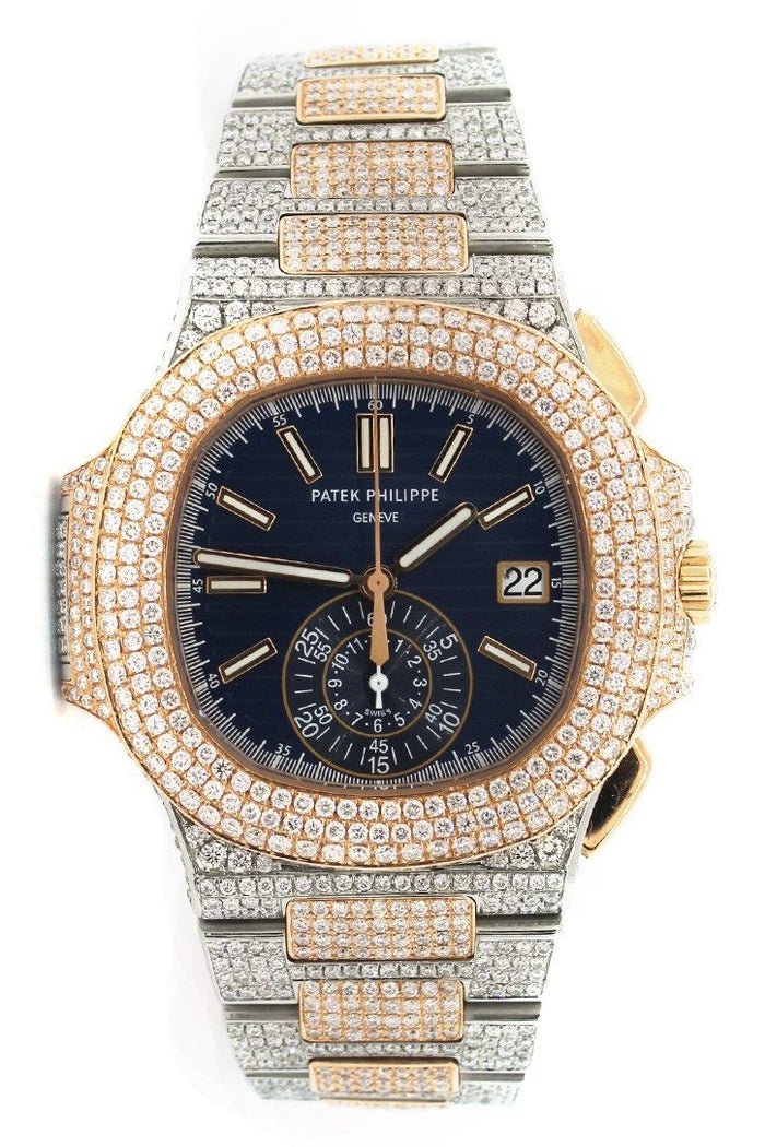 Patek Philippe Nautilus Custom Diamonds 5980/1AR-001