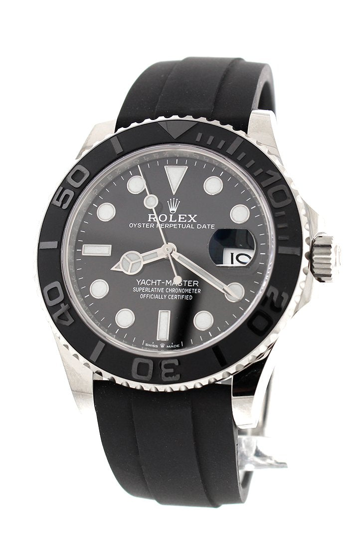 Rolex Yatch-master 42 White Gold New 2019 Model Mens Watch 226659