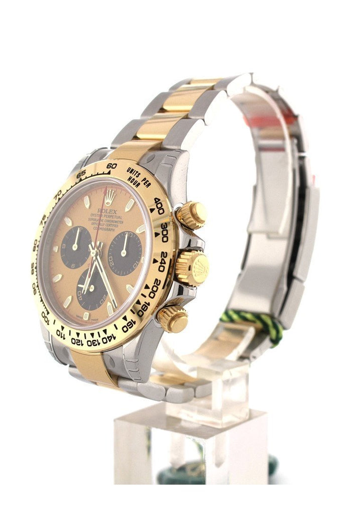 Rolex Cosmograph Daytona 40 Champagne Paul Newman Dial Stainless Steel And Gold Mens Watch 116503