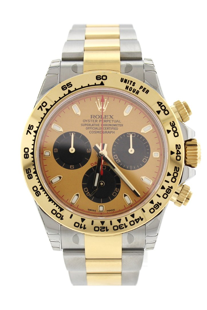 ROLEX Cosmograph Daytona Eye of the Tiger Chronograph Automatic Chronometer Diamond Men's Watch 116588TBR-0003 116588TBR